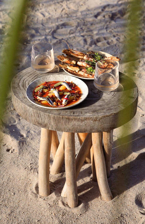 Joia Beach Boquerones & Tiger Prawns