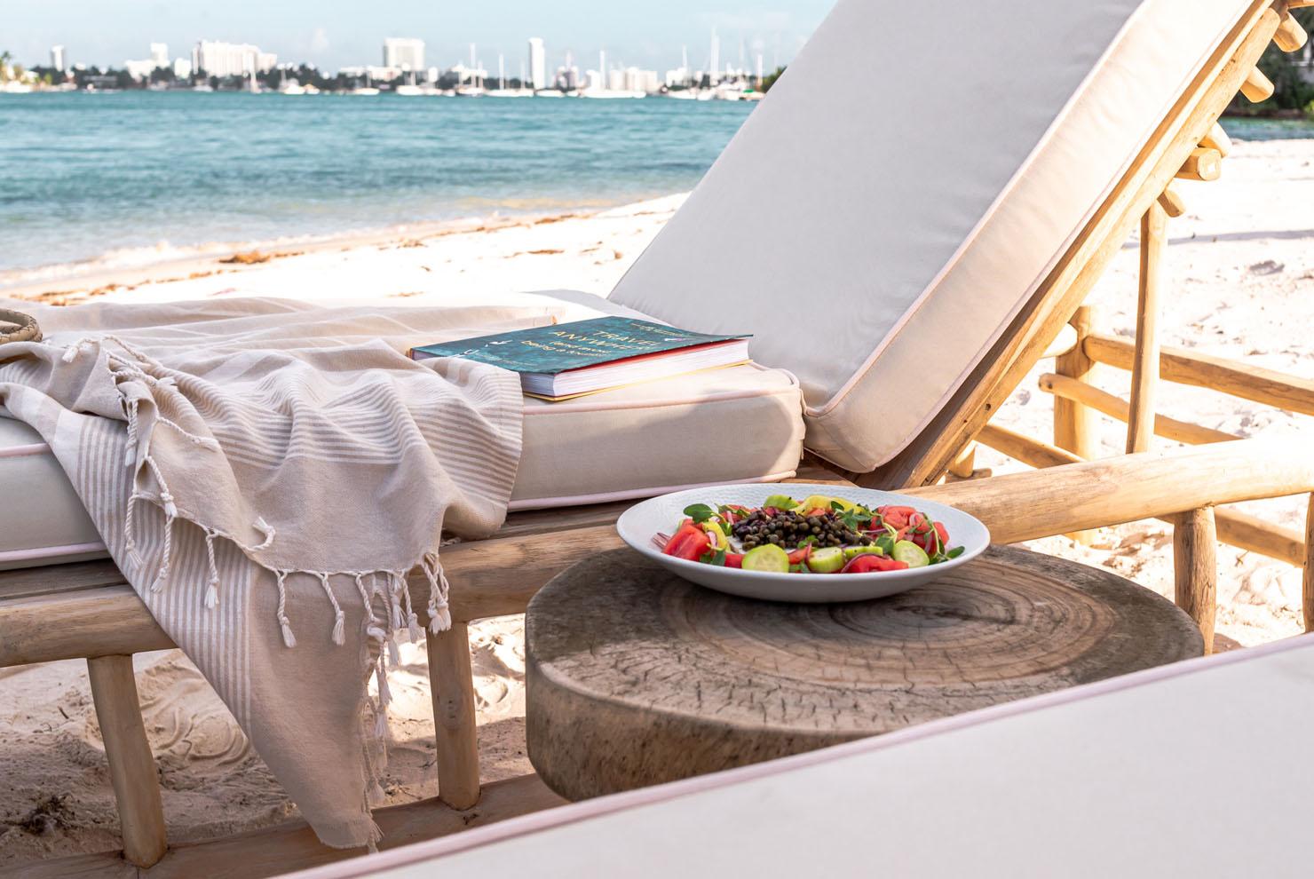 Joia Beach Greek Salad On The Beach