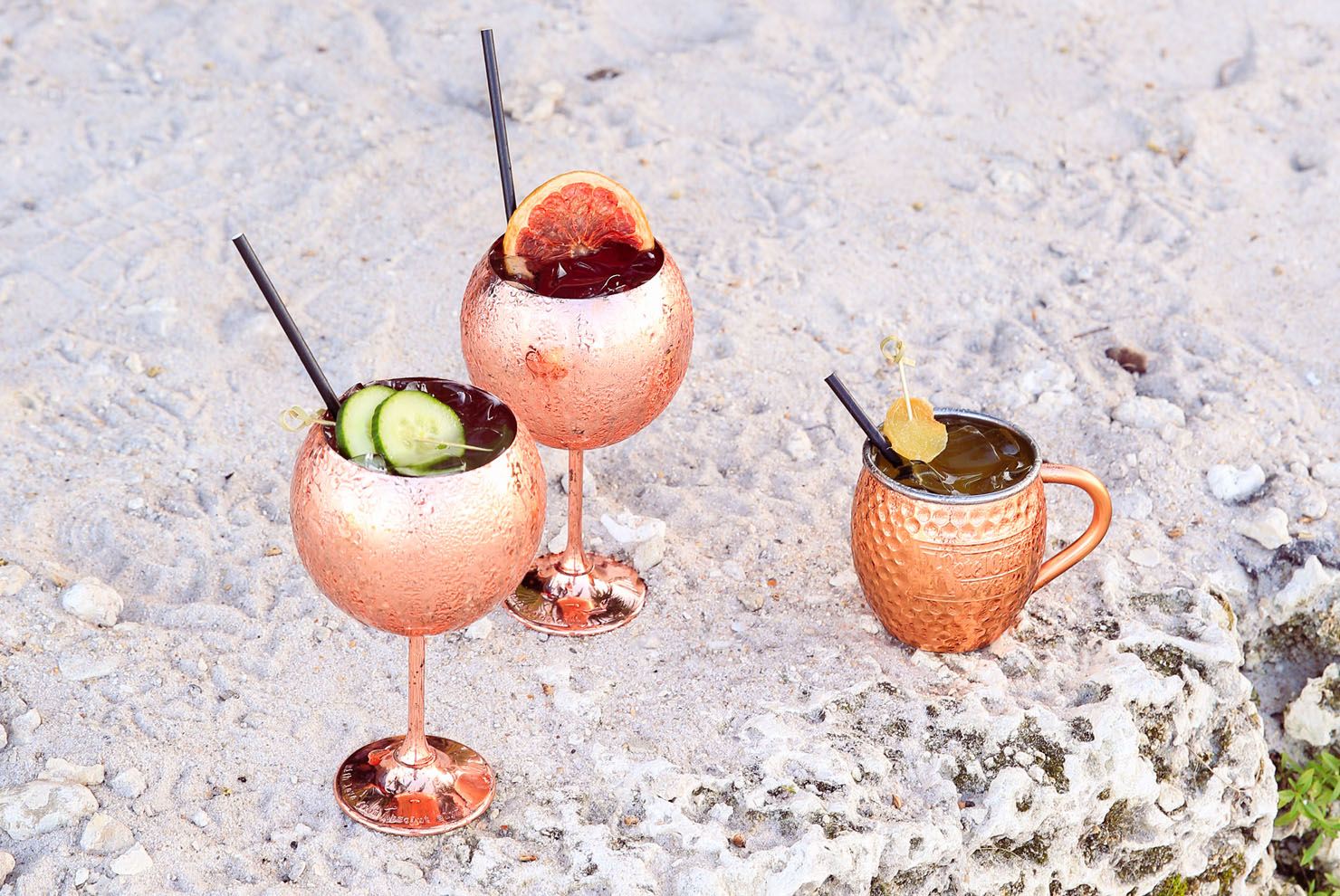 Joia Beach Spritz and Oceanside Mule