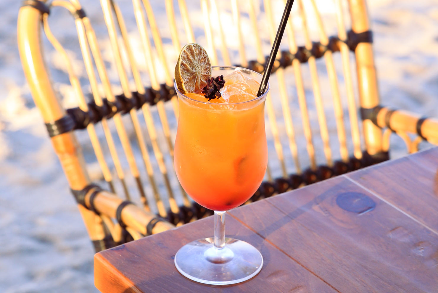 Joia Beach Sunrise Key Cocktail