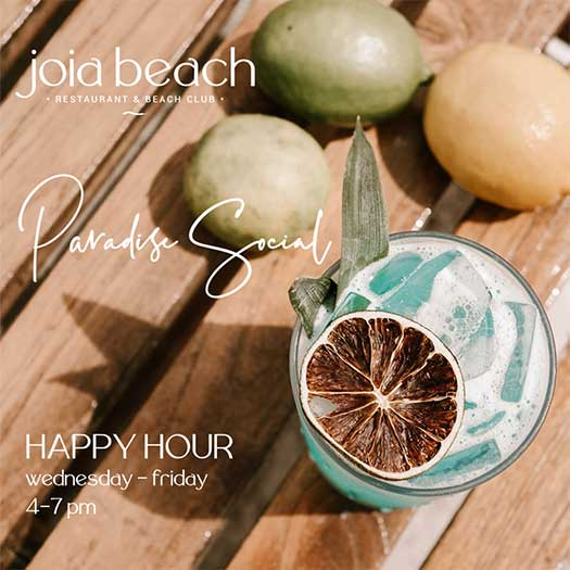 Paradise Social Happy Hour